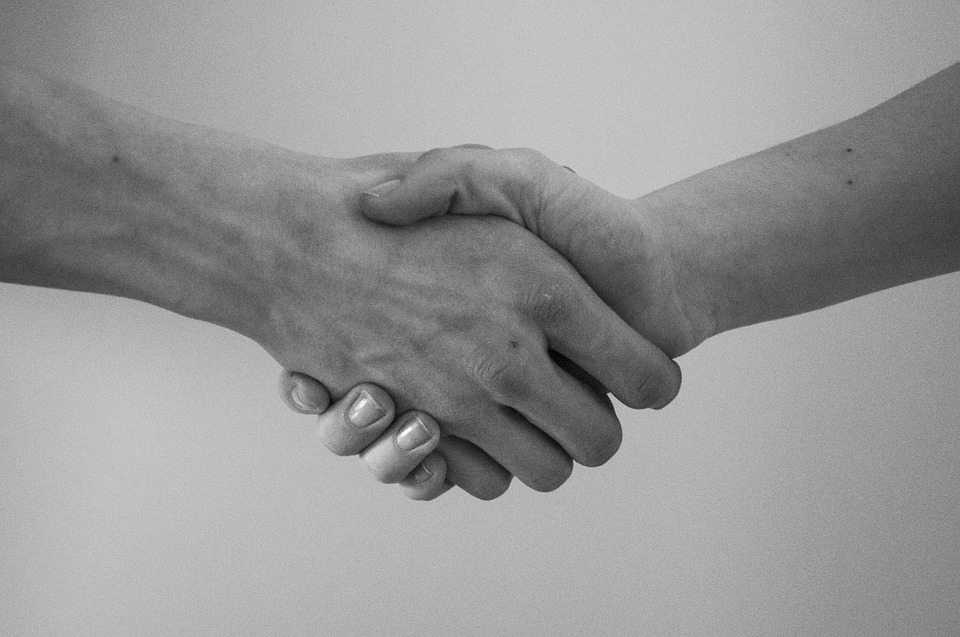 Handshake stock creative commons