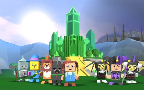 Legends of Oz Blocksworld