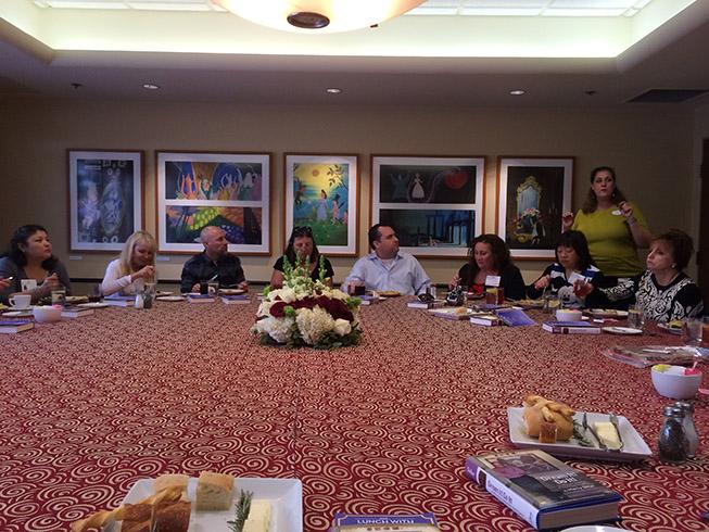 Marty Sklar Disney Imagineering Legend Lunch At Disney Studios