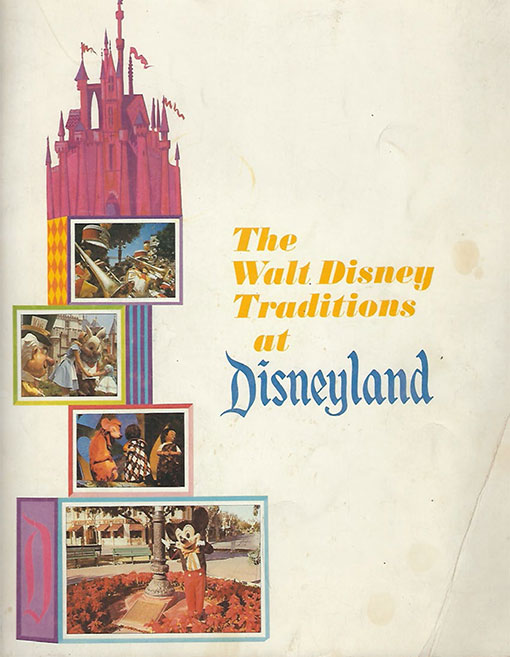 1967 Disneyland Training Manual For Cast Members Cover