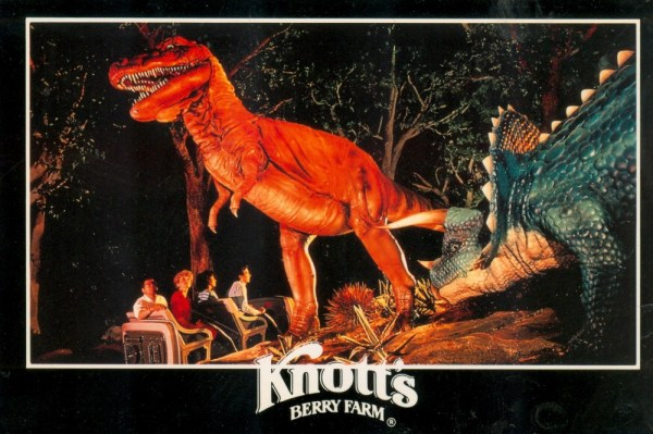 Knott's Berry Farm Kingdom of the Dinosaurs Photo