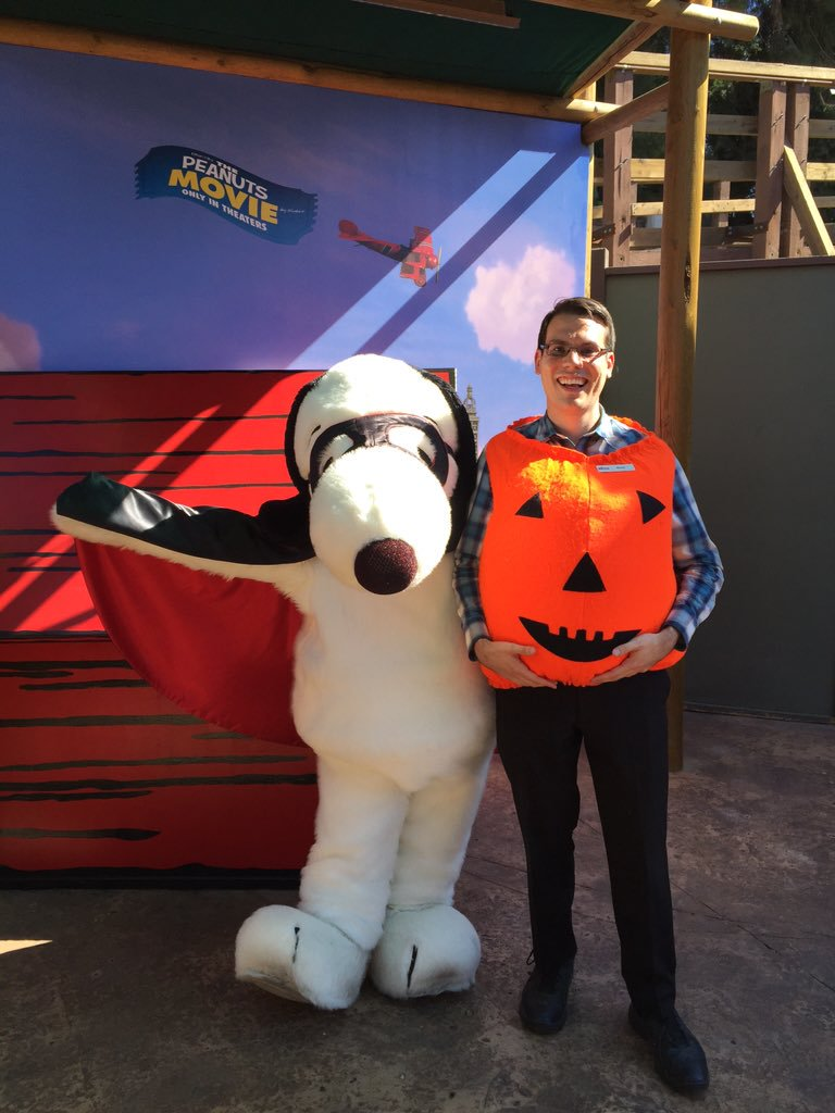 Knott's Snoopy Great Pumpkin