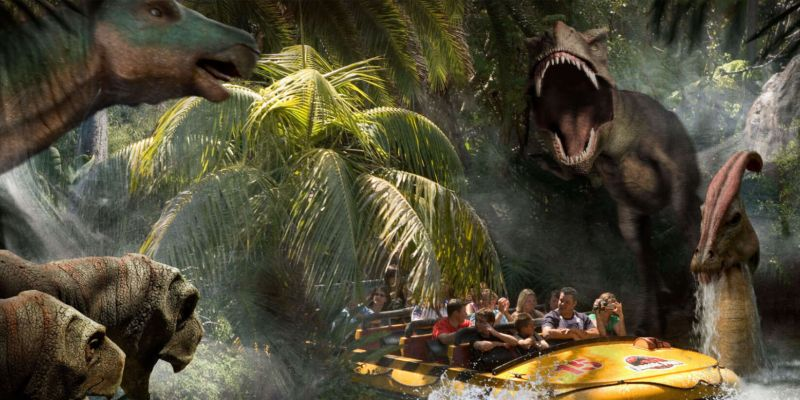 Jurassic Park Memorable Moment at Universal Studios