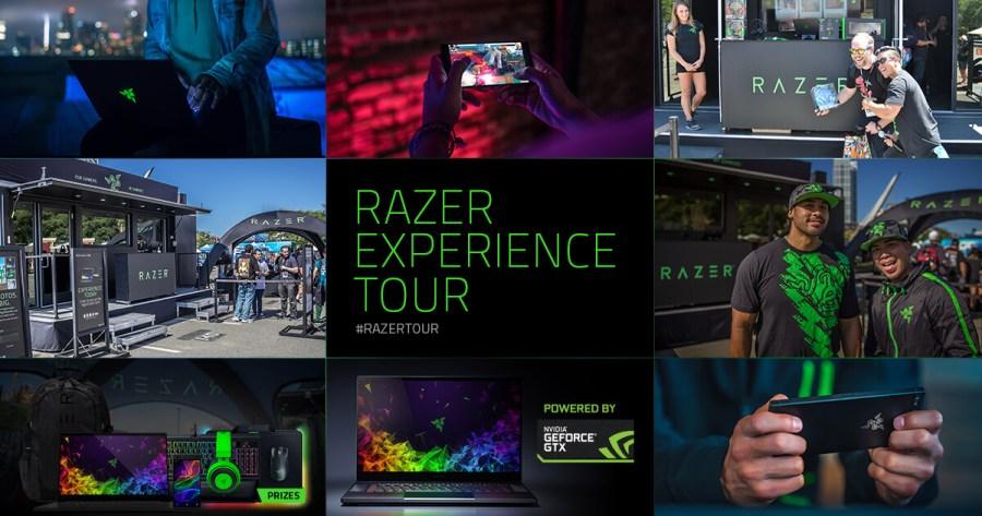 Experiential Marketing Example Razer Tour