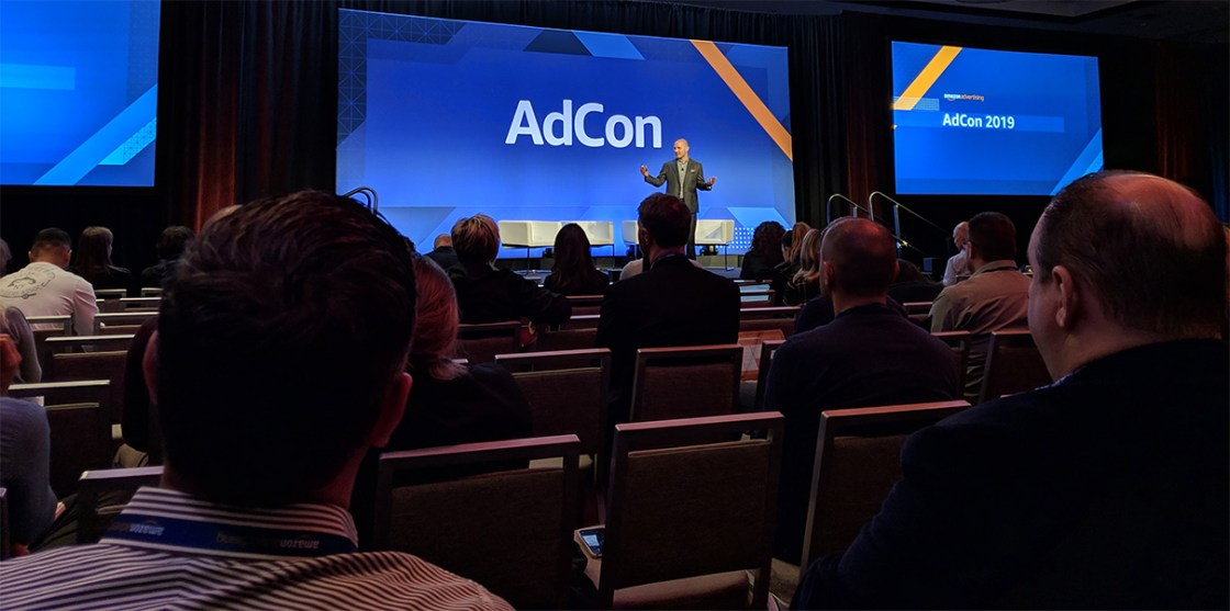 Amazon AdCon Welcome Stage
