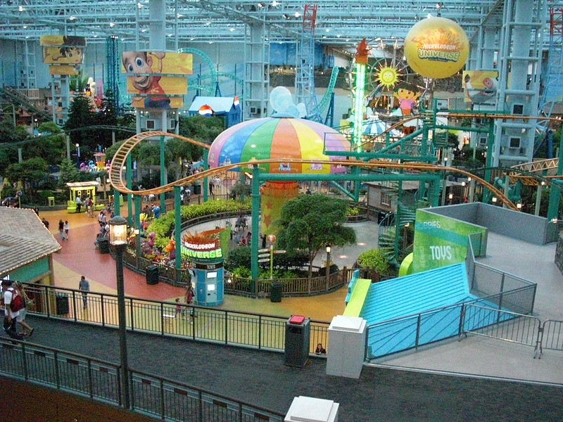 Future Of Retail Mall Of America Nickelodeon Universe Indoor Theme Park