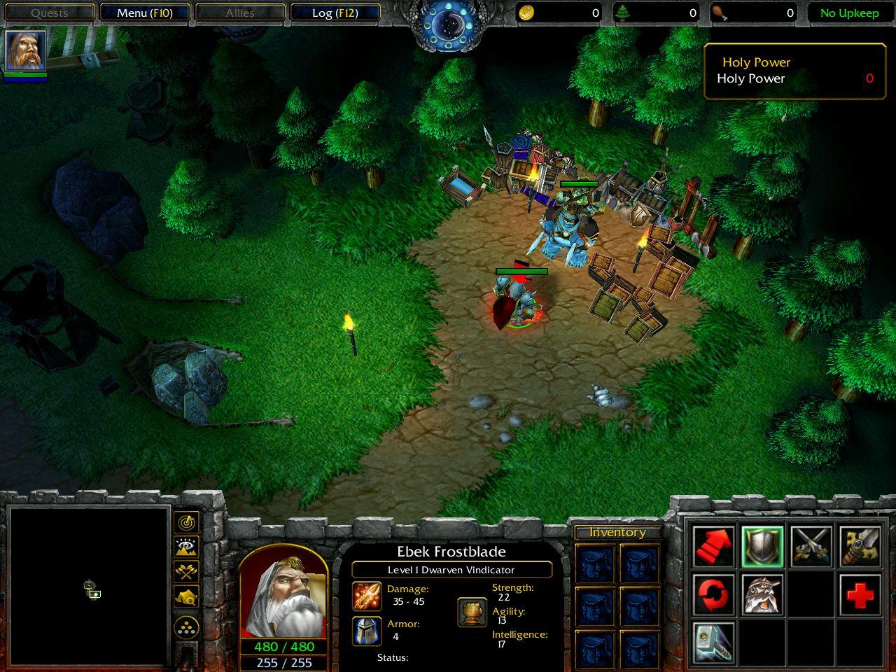 Warcraft 3 Map Project Exploration Bradjones