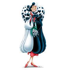 Cruella de Ville from Disney's 101 Dalmations