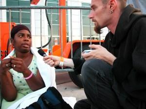 Vinny interviews Latasha Allen