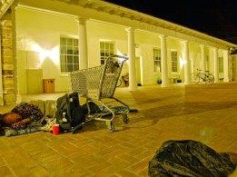 Sleeping Ban Protest at City Hall