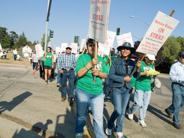 Service Workers on Strike