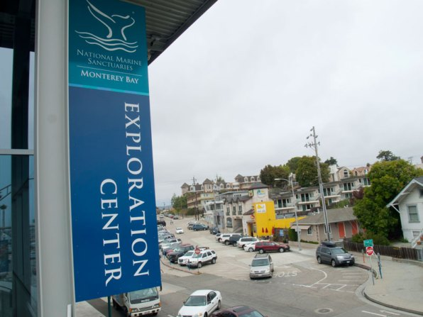 Exploration Center and Beach Hill