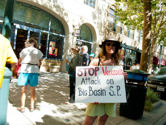 Stop Verizon's Attack on Big Basin State Park