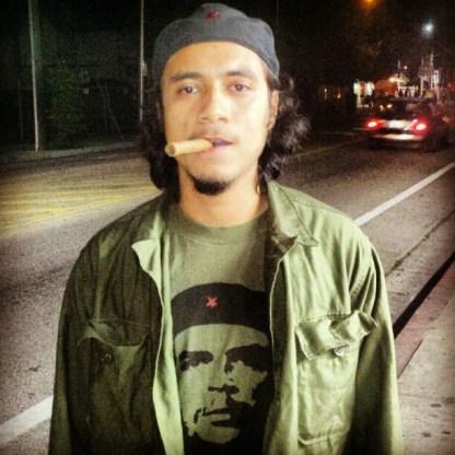Che Guevara on Laurel St.