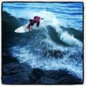 Owen Wright of Culburra Beach, Australia in Heat 9 Round 1