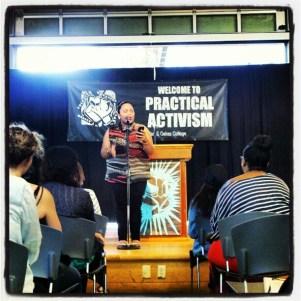 Terisa Tinei Siagatonu is a spoken-word artist, arts educator and community organizer.