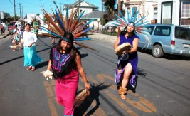 White Hawk Aztec dancers