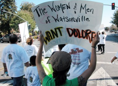 The Men and Women of Watsonville Want Dolores as the name of a school