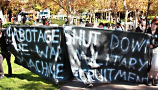 Sabotage the War Machine! Direct Action Against Military Recruitment
