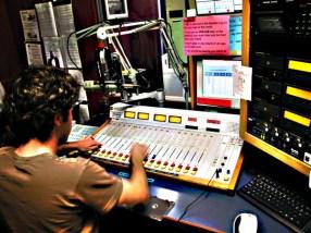 a DJ at KDVS