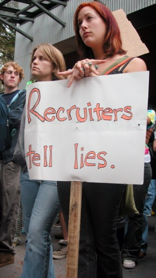 Recruiters Tell Lies