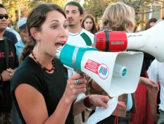 a graduate student at UCSC speaks about solidarity