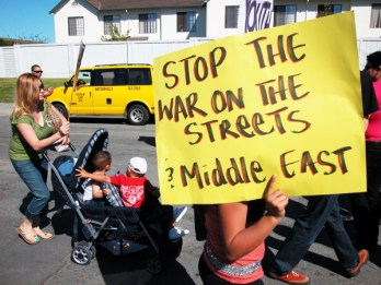 Stop the War on the Streets and the Middle East