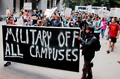 Military Off All Campuses