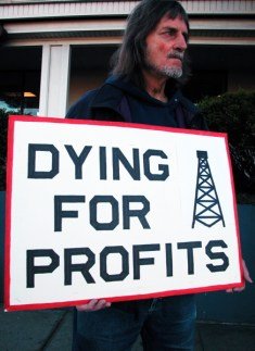 dying for profits