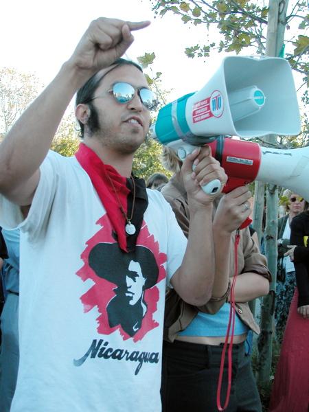Sandino of the RCNV speaks about Youth Empowerment and Free Radio Santa Cruz