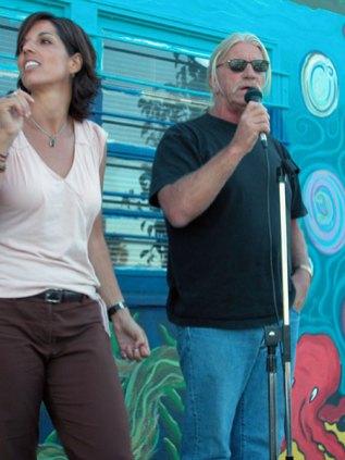 Rebecca and Mike