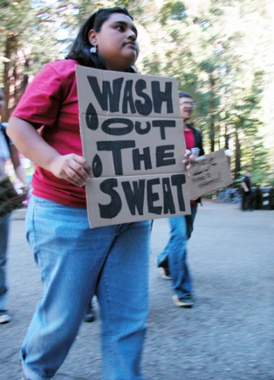Wash Out the Sweat