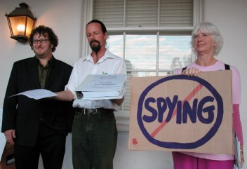 Wes, Grant and Sherry Say No Spying