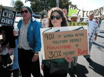 90% of Women in the Military Report Harassment and 30% report Rape