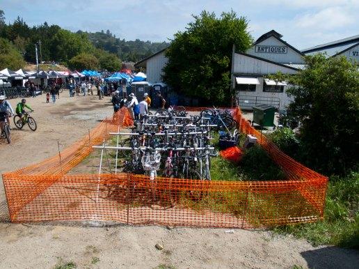People Power's Valet Bicycle Parking