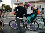 Family Fun with Santa Cruz Bike Party