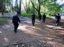 University of California Police Clear People Out of Porter Meadow
