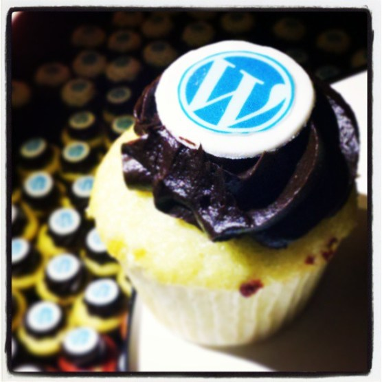 WordPress Cupcakes at Automattic