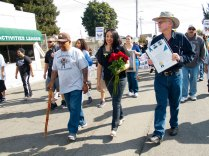 "Daniel ""Nane"" Alejandrez, Watsonville Vice Mayor Karina Cervantes, and Mayor Lowell Hurst"