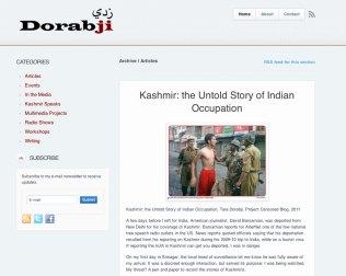 Tara Dorabji Kashmir