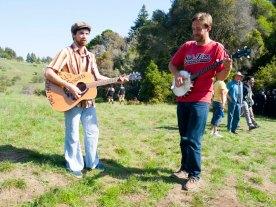 Playing the Guitar and Banjo on 420 at UC Santa Cruz