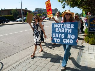 Mother Earth Says No To GMO