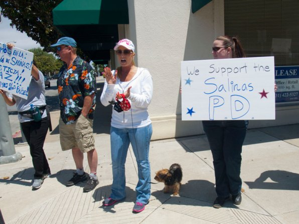 We Support The Salinas P.D.