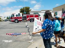 Salinas Fire Shows Their Support for Salinas Police