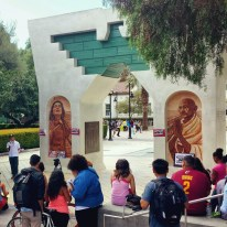 Gabe and The César E. Chávez Monument: Arch of Dignity, Equality and Justice