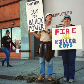 Another White Guy For Black Power. Fire All Killer Cops