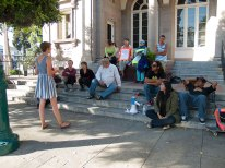 Rally at Santa Cruz Post Office to End Solitary Confinment