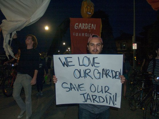 We Love Our Garden