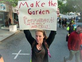 Make the Garden Permanent. Save the Heart of Santa Cruz