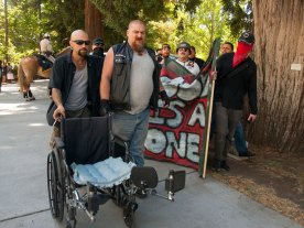 Neo-Nazis Make Their Way to the Capitol Steps
